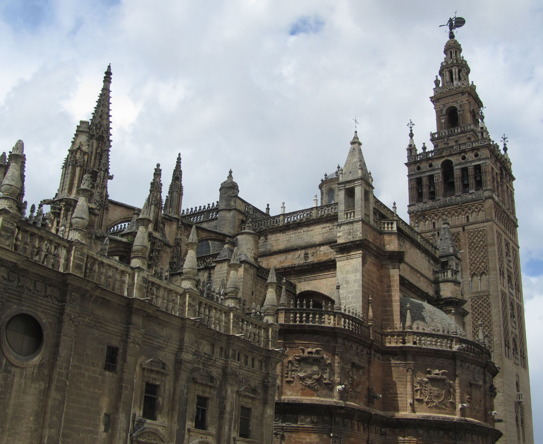 Spain-Sevilla-Cathedral-Exterior
