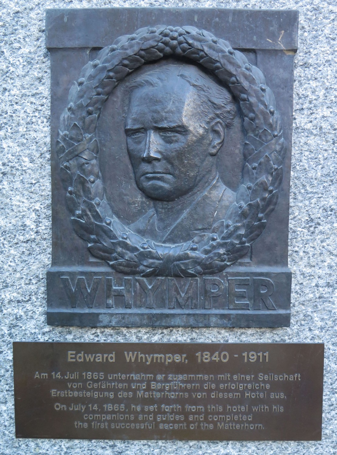 Switzerland-Zermatt-Edward-Whymper-First-Ascent