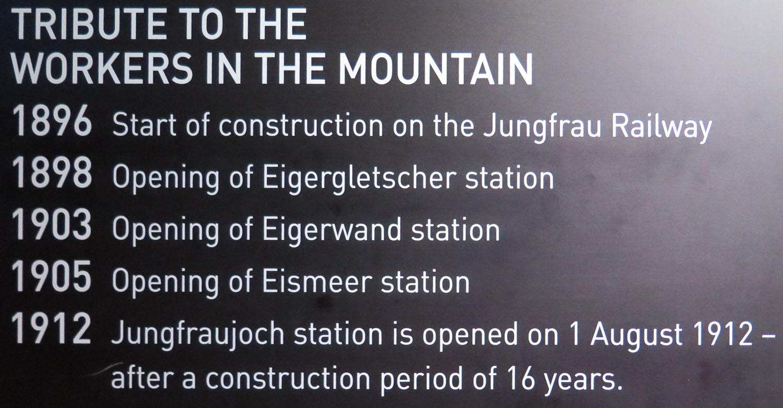 Switzerland-Bernese-Oberland-Jungfrau-Railway-History