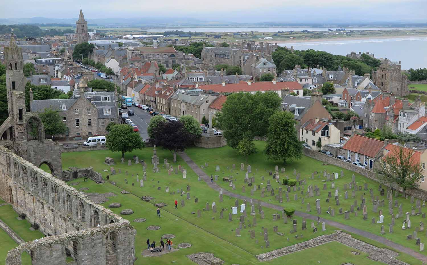 Scotland-Lowlands-Saint-Andrews-Tower-View