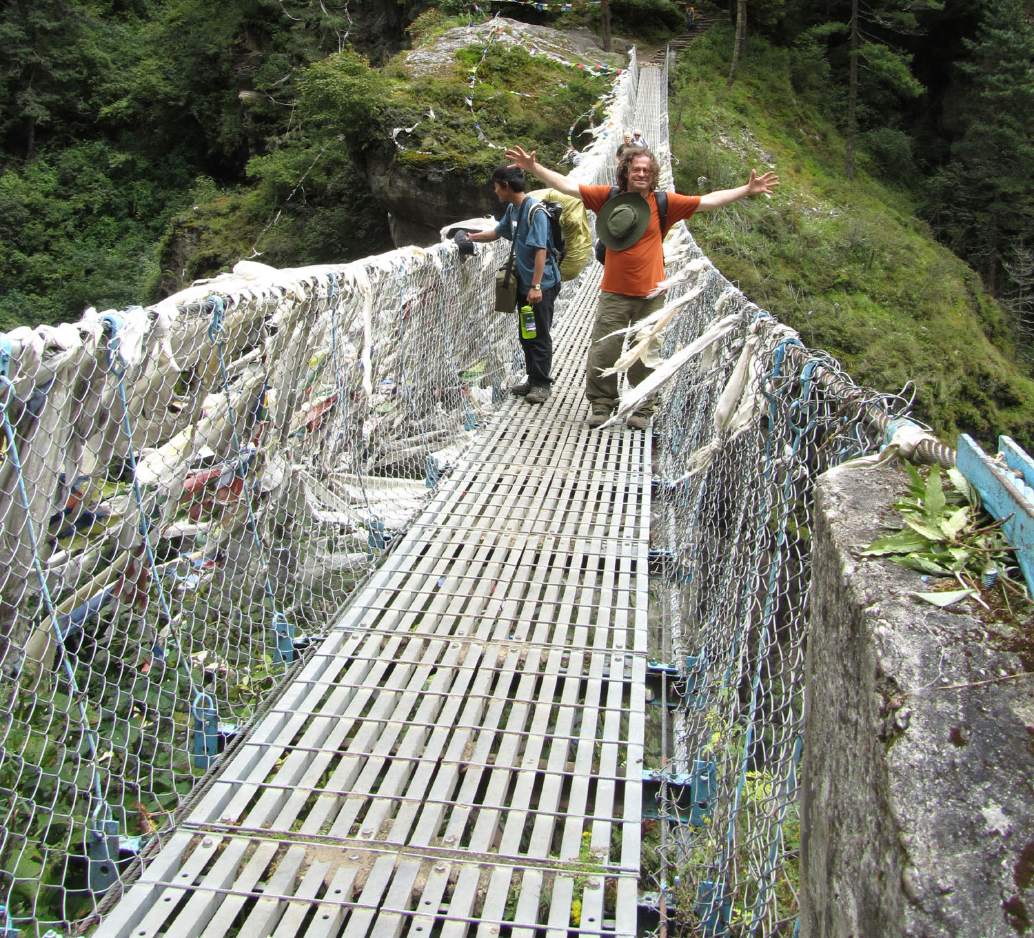 Nepal-Everest-Region-Trek-Day-02-High-Bridge