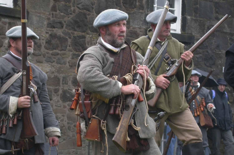Scotland-Lowlands-Stirling-Castle-Guns