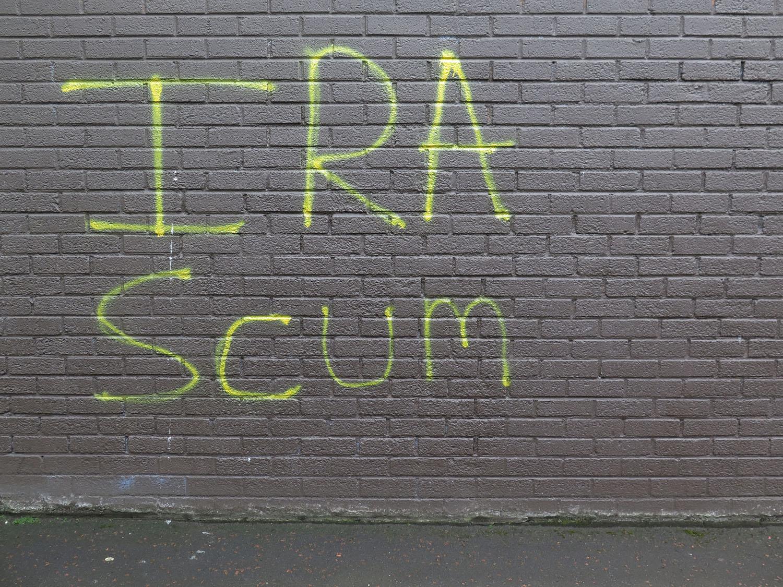 Northern-Ireland-Derry-Londonderry-IRA-Scum