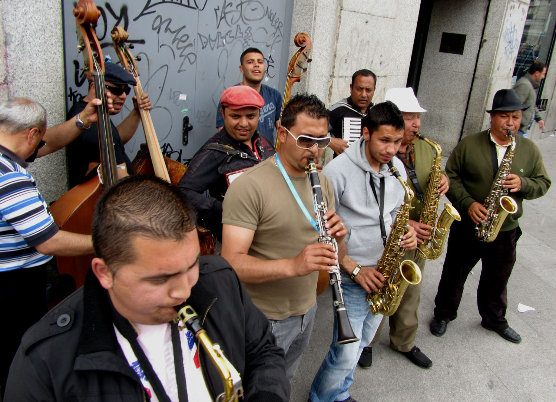 Spain-Madrid-Band