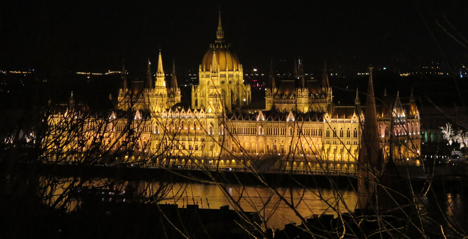 Hungary-Budapest-Parliament-Night-From-Buda-Castle