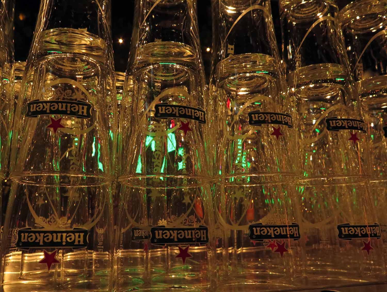 Netherlands-Amsterdam-Heineken-Glasses