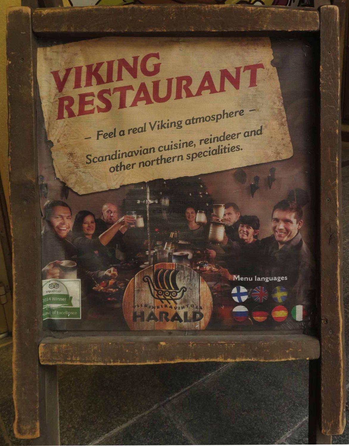 Finland-Helsinki-Viking-Restaurant