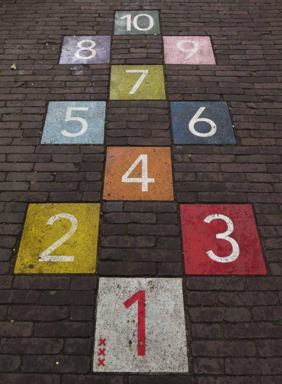 Netherlands-Amsterdam-Hopscotch