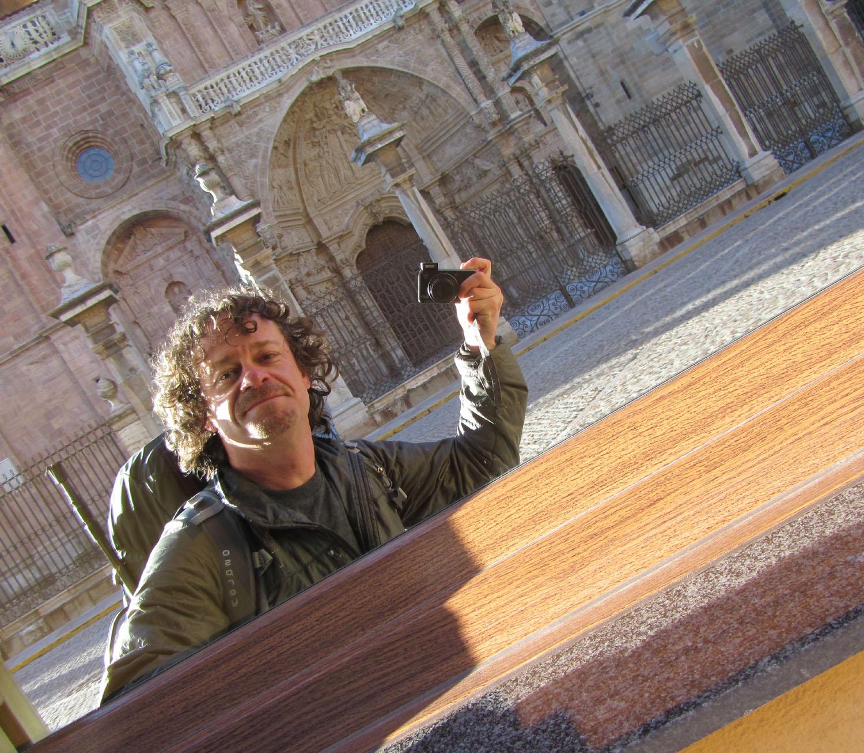 Camino-De-Santiago-Sights-And-Scenery-Astorga-Self-Portrait