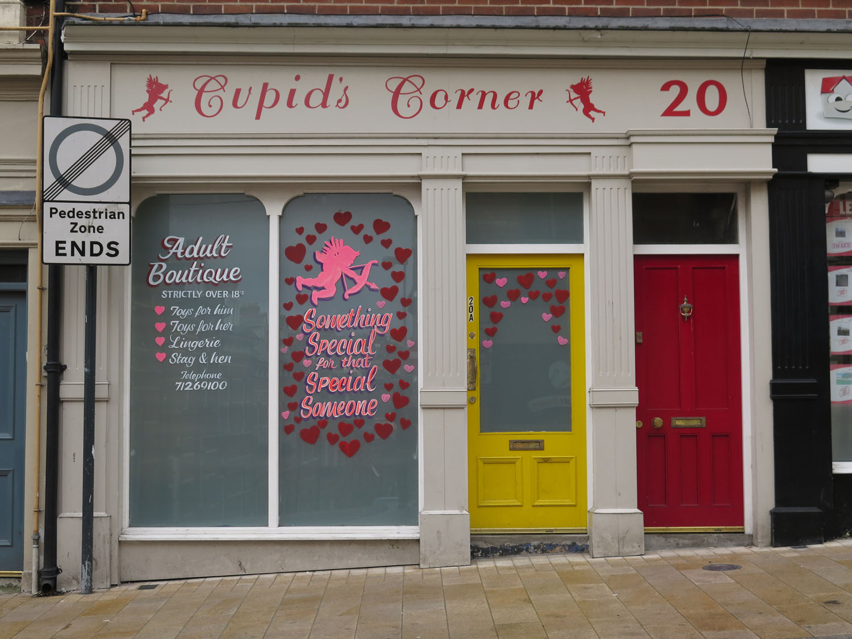 Northern-Ireland-Derry-Londonderry-Street-Scenes-Cupids-Corner