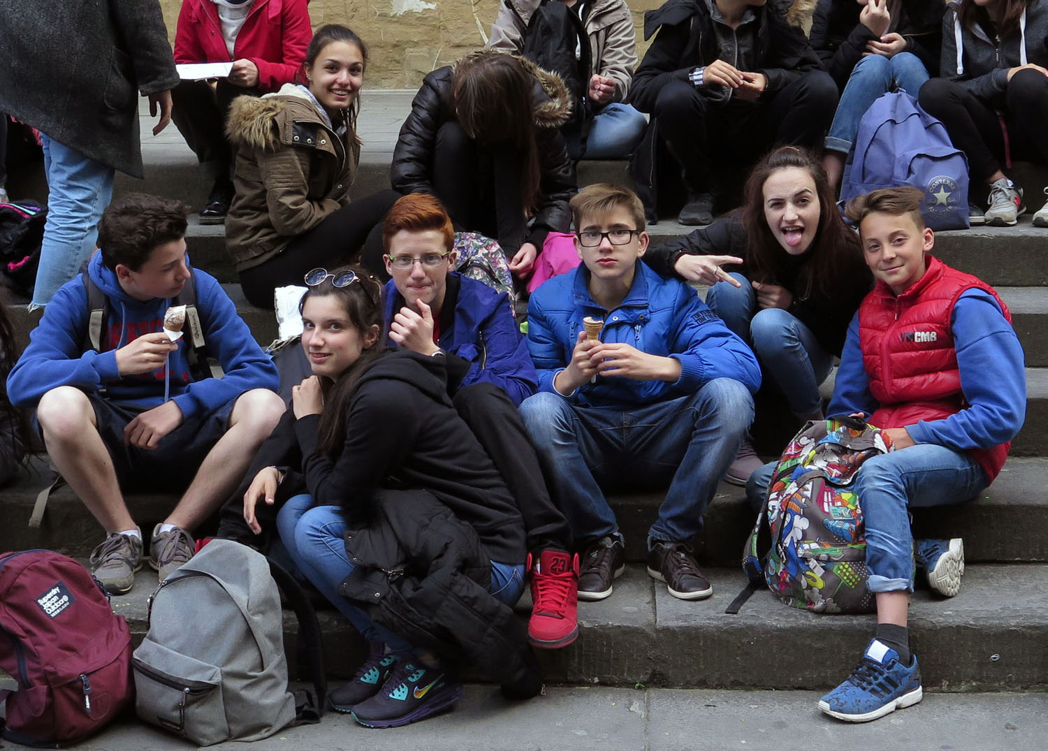Italy-Florence-Street-Scenes-Young-People