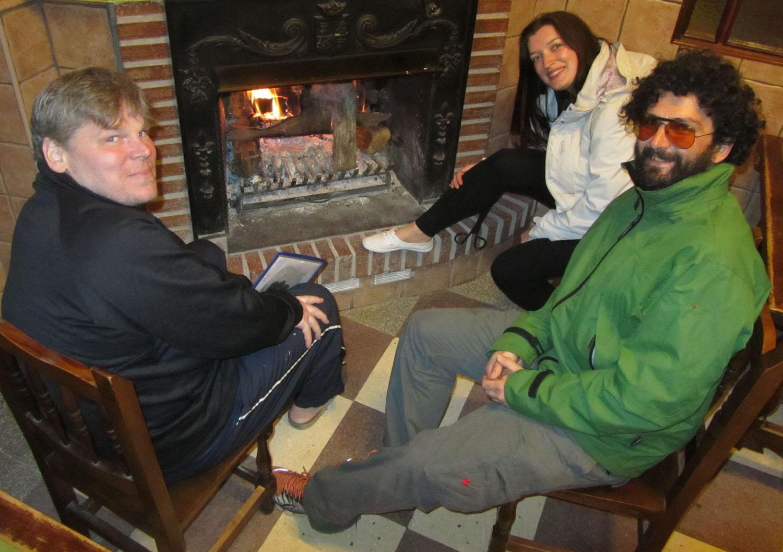 Camino-De-Santiago-People-Family-Fireplace