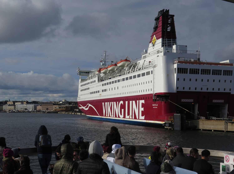 Finland-Helsinki-Suomenlinna-Ferry-Viking-Line