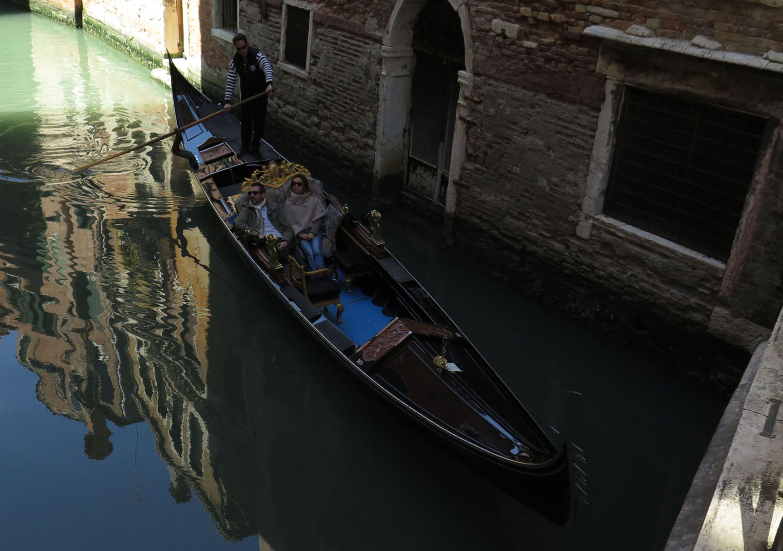 Italy-Venice-Wandering-Around-Gondola-Reflection