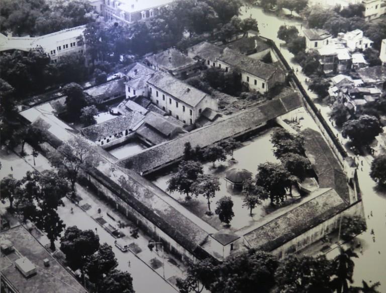 Vietnam-Hanoi-Hoa-Lo-Prison-Aerial-View
