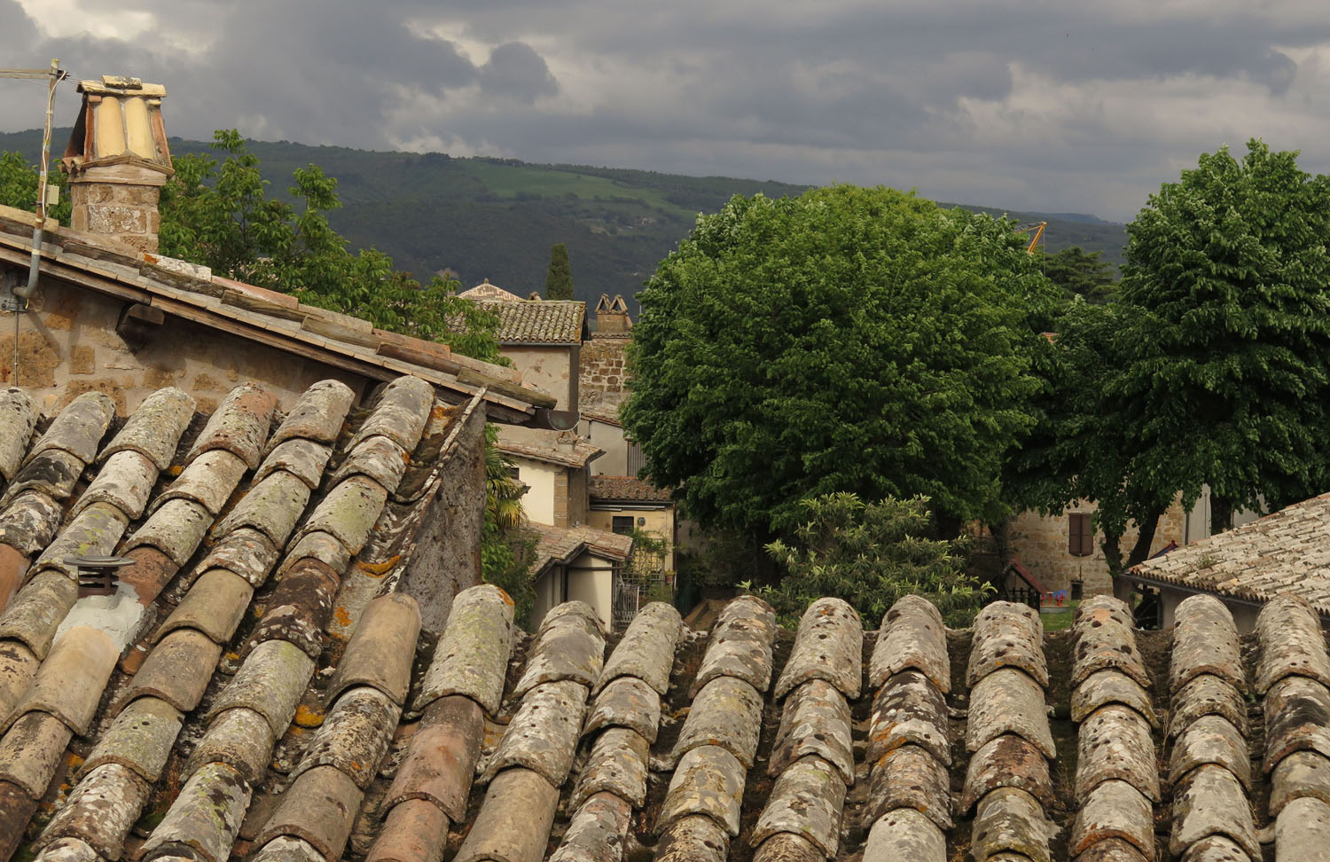 Italy-Orvieto-View-From-Hotel