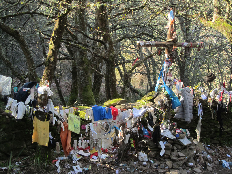 Camino-De-Santiago-Sights-And-Scenery-Shrine