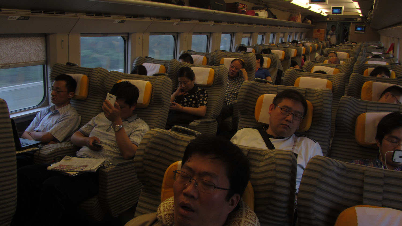 China-Suzhou-Train