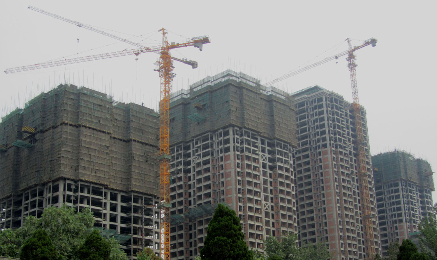 China-Xian-Construction