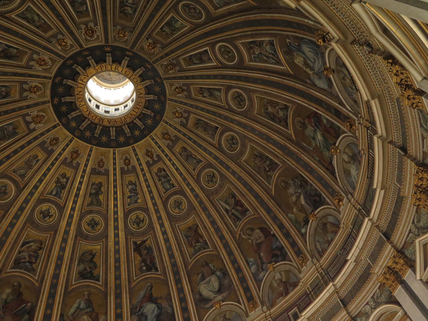 Italy-Rome-Vatican-Saint-Peters-Basilica-Dome