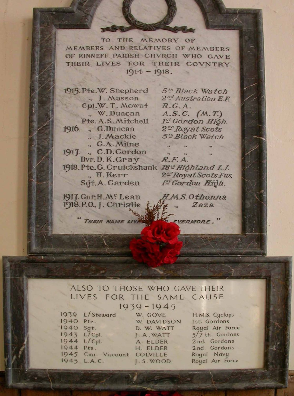 Scotland-Lowlands-Kinneff-War-Memorial