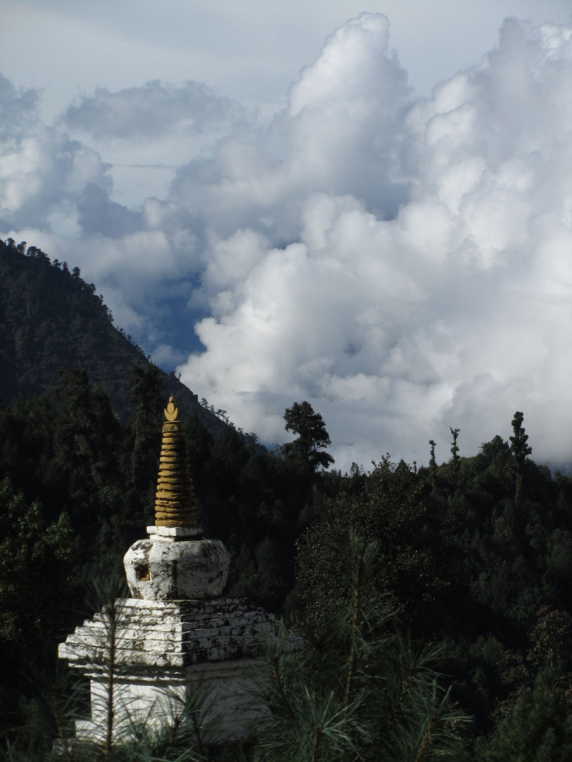 Nepal-Everest-Region-Trek-Day-01-Lukla-Stupa