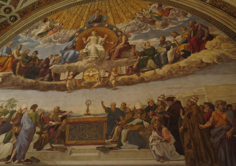 Italy-Rome-Vatican-Museum-Fresco